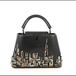Louis Vuitton Capucines City Beaded Leather BB